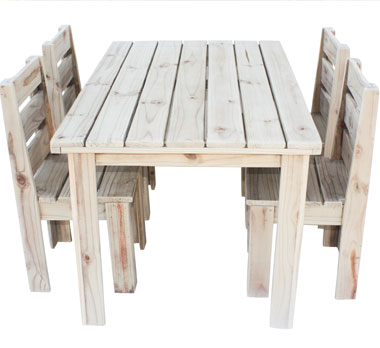 83fc0114ee8 4 seater table and chairs set (Suitable for outdoors)