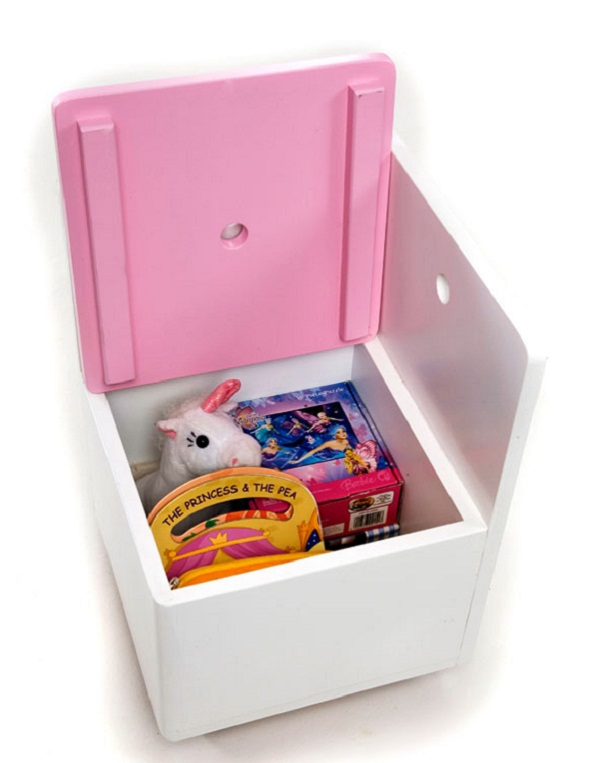 Just For Kids   Gelato Cube Chair With Toy Storage ...