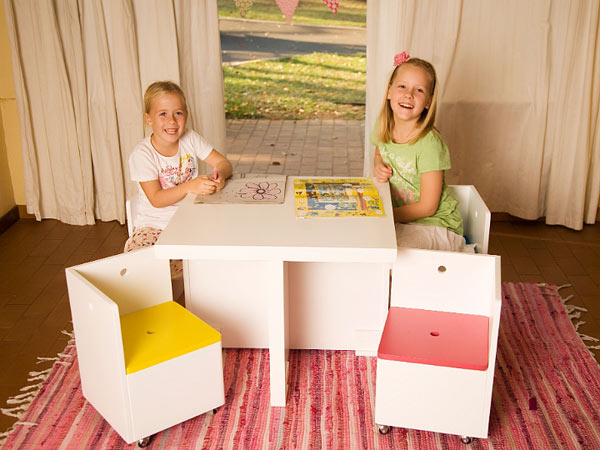 Just For Kids   Gelato Cube Table U0026 Chair Set