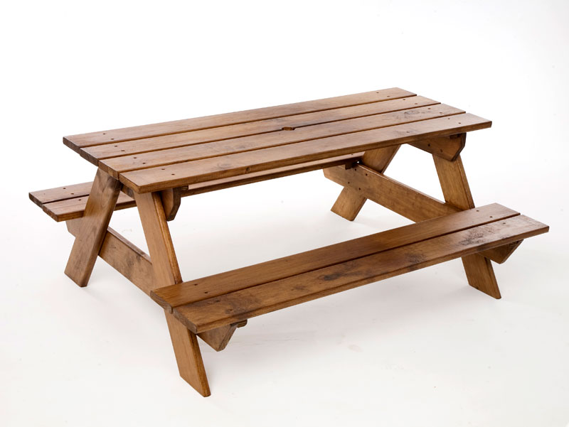 plans to build a child's picnic table | Discover Woodworking ...