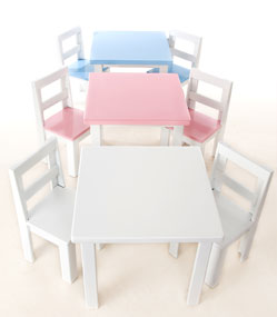 Just For Kids Table Chair Set